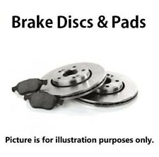 Ford Fiesta Front Brake Discs and Pads (7232)