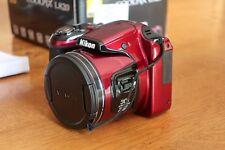 Nikon COOLPIX L820 Rouge - appareil photo numérique bridge