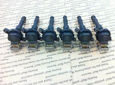 BMW BREMI IGNITION COIL 1748017 COMPLETE SET OF 6 GENUINE M52 ENGINE E36 E39 E37