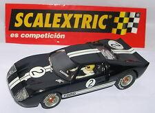 SCALEXTRIC SPAIN ALTAYA DUELLE MYTHISCHE FORD GT 40 #2 B.McLAREN-C.AMON LTED.ED