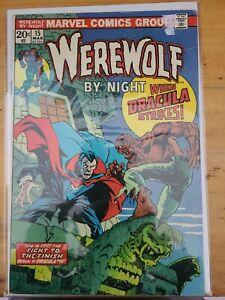Werewolf by Night #15 VF+?  Beautiful Copy!  Werewolf vs. Dracula!