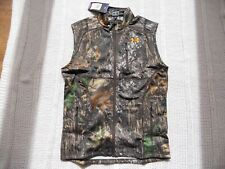 NWT Under Armour Hunting Vest Mossy Oak Breakup Camo Size Medium