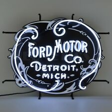 """Ford Motor Company 1903 Heritage Emblem OLP Sign Neon Light Sign 26""""x21"""""""