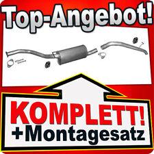 Auspuff FORD TRANSIT & TOURNEO CONNECT 1.8 TDCI DI SWB ab 2006 mit DPF/FAP U22