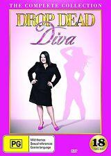 DROP DEAD DIVA Season 1 2 3 4 5 6 (Region 1) DVD The Complete Series 1-6