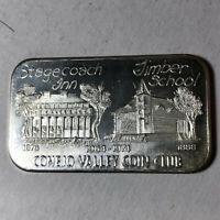 1974 USSC Conejo Valley Coin Club 1 Ounce .999 Silver Art Bar