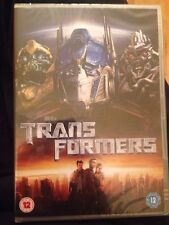 Transformers (DVD, 2007) New And Sealed Shia Labeouf & Tyrese Gibson