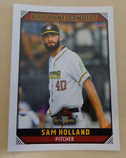 Sam Holland 2018/19 Australian Baseball League card - Brisbane Bandits