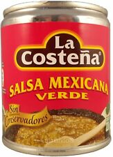 Grüne mexikanische Salsa - LA COSTENA - 220g