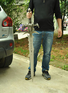 WOW Frostmourne Sword 1:1 Collectibles Lich King Arthas  Sword Blade 120CM