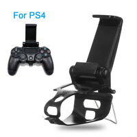 Clip Phone Holder Handle Bracket Gamepad Mount Stand For PS4 Playstation 4