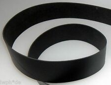 Lederriemen Lederstück Lederhaut Gürtelleder schwarz 130,0 x 20,0 cm x 3 mm LWPH