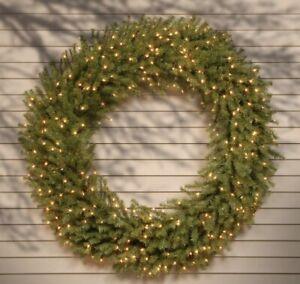"""National Tree Company 60"""" pre-lit Wreath"""