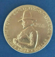 "1920 ""Pilgrim Tercentenary Commemorative"" 90% Silver! Half Dollar Coin 50 Cents!"
