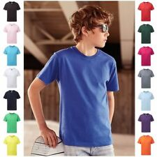 Boys' No Pattern Crew Neck T-Shirts, Tops & Shirts (2-16 Years)