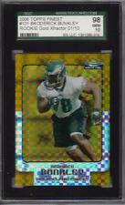 2006 Topps Finest RC Gold Xfractor Broderick Bunkley 1 / 10  SGC 10
