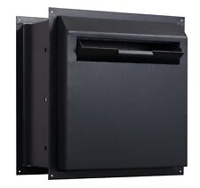 PROTEX WDD-180-Black Drop Box Safe Through-The-Wall with Key Lock