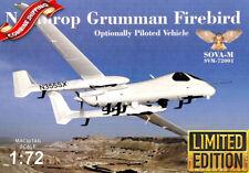 SOVA-M 72001 Northrop Grumman Firebird OPV w/Antennas & Sensors plastic kit 1/72
