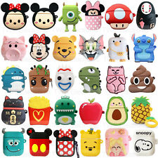 For Apple Airpods 1 &2 Disney Mickey Silicone Skin Charging case Rubber Cover