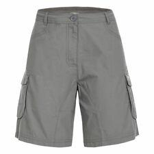 Trespass Nova Womens Summer Shorts Travel Walking Cargo Style Cotton Blend