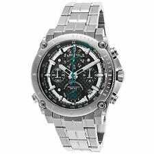 Bulova 96G241 Men's Precisionist Silver-Tone Quartz Watch