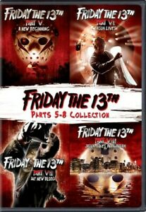 Friday the 13th: Parts 5-8 Collection [New DVD] Deluxe Ed, Widescreen, 2 Pack,