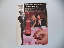 advertising Pubblicità 1971 LAMBRUSCO FOLONARI