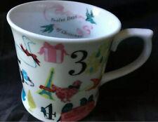Rosanna 12 TWELVE DAYS OF CHRISTMAS Tankard Style COFFEE MUG NEW Large Tea Cup