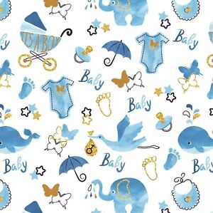 Beautiful Baby Boy,Baby Shower,New Baby Wrapping Paper Sheet.