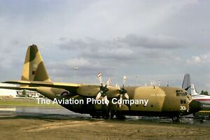 RAF Lyneham Transport Wing Lockheed C-130K Hercules C.1 XV301 (1975) Photograph
