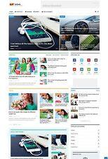 Responsive NEWS Website - Run on AutoPilot