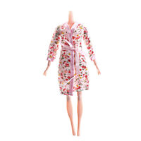 Handmade Doll Clothes Flower Printed Sleepwear for  Doll Accessory_CA