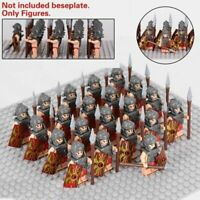 Spartan 300 movie minifigure Gold greek soldier toy figure military