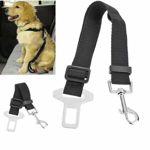 Adjustable Dog Cat Car Safety Seat Belt Harness Restraint Travel Collar. 0196