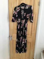 Boohoo Pleated Midi Dress Size 8 Wedding Party
