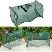 Fishing Net Cage Catcher Trap for Crab Fish Shrimp Portable Mesh Tackle Nets