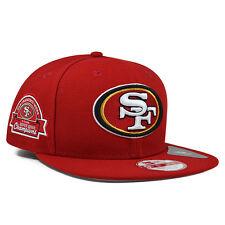 San Francisco 49ers 5x CHAMPIONS TITLE DEALER SNAPBACK 9Fifty New Era NFL Hat
