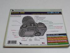 Blue Crane Digital InBrief Laminated Reference Card for Canon 30D DSLR