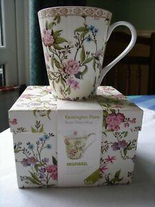 Marks and Spencers V+A inspired bone china mug. Kensington Flora(1of2)