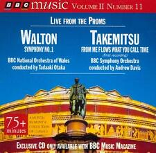 WALTON: SYMPHONY NO 1 / OTAKA + TAKEMITSU: FROM ME FLOWS WHAT ... / ANDREW DAVIS