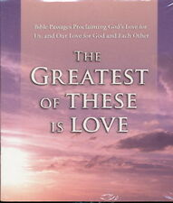 Audio book - The Greatest Of These Is Love    -   CD