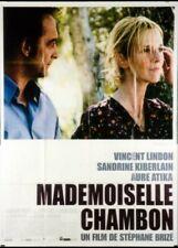 affiche du film MADEMOISELLE CHAMBON 120x160 cm