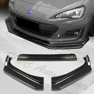 For 2017-2020 Subaru BRZ JDM CS-Style Carbon Look Front Bumper Body Spoiler Lip