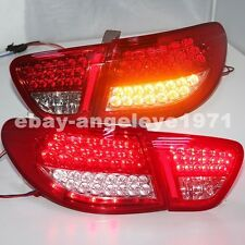 2006-2010 Year For HYUNDAI Elantra FULL LED Taillights Avante Rear Lamps Red WH