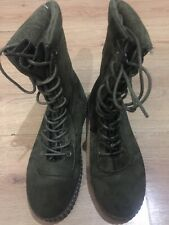Boots Green Women Very Nice Perfect For Winter Good Condition  Size 40