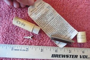 Vintage Rolls Razor Replacement Friction Clip & Pin Original Packaging England