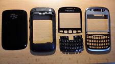 BlackBerry Curve 9320 - Komplett Cover / Gehäuse Schwarz.