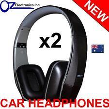 2x Headphones wireless car DVD mitsubishi Outlander Xtrail Pathfinder Pajero NEW