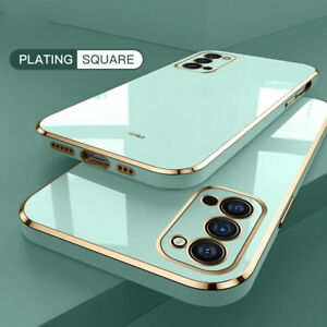 For Samsung A82 A22 A32 A52 A72 S21 Plus Shockproof Plating TPU Soft Case Cover