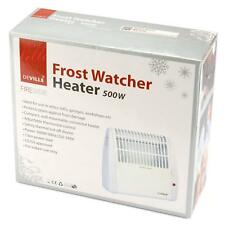 Frost Watcher Compact Electric Convector Heater Wall Mounted Indoor Use - 500W